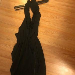 Black Ruffle Dress